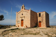 Bingemma Gap church. Malta Stock Image