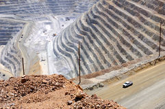 Bingham Kennecott Copper Mine Royalty Free Stock Image