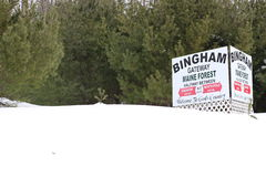 Bingham Maine Photos stock