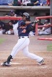 Binghamton Mets batter Brahiam Maldonado Stock Images