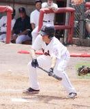Binghamton Mets batter Daniel Munto Stock Images