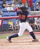 Binghamton Mets batter Dusty Ryan Royalty Free Stock Image
