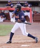 Binghamton Mets batter Jordany Valdespin Royalty Free Stock Photos