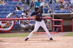 Binghamton Mets batter Joshua Satin Stock Image