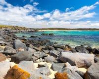 Bingie Bingie Point. Rocky beach at Bingie Bingie Point, New South Wales, Australia stock images