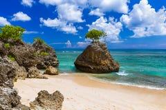 Bingin strand - Bali Indonesien Arkivfoton