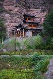 binglin buddyjska porcelany si świątynia obrazy stock