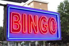 Bingo stock photo