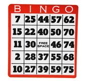 Bingo. Isolated over white Background Stock Image