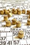 Bingo royalty-vrije stock foto
