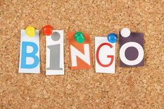 Bingo Photo stock