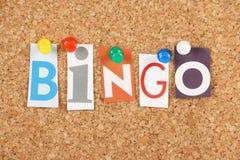 Bingo Stockfoto