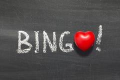 Bingo royalty-vrije stock afbeeldingen