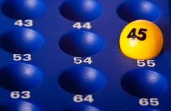 Bingo 45 Stock Image