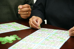 Bingo Fotografia de Stock