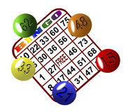 Bingo 6 royalty free stock photography