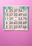 bingo royaltyfri bild