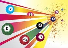 Bingo. Abstract bingo banner.Vector illustration stock illustration