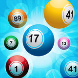 Bingo ball burst Stock Photos