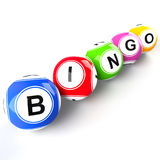 Bingo balls Royalty Free Stock Photos