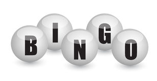 Bingo balls illustration design Stock Photo