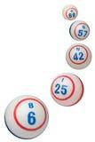 Bingo Balls royalty free stock photo