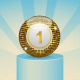bingo balowy wygranie Zdjęcie Stock