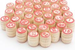 Bingo barrels Royalty Free Stock Photo
