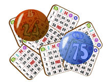 Bingo Card Jumble Royalty Free Stock Image