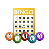 Bingo concept illustration design Royalty Free Stock Photo