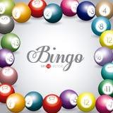 Bingo design,  illustration. Royalty Free Stock Photos