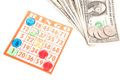 Bingo Gambling Stock Photo