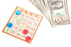Bingo Gambling Stock Photo