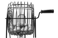 Bingo Game Cage Stock Photo