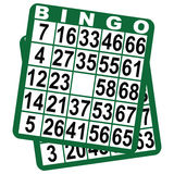 Bingo game cards Stock Photos