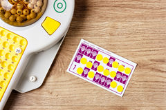 Bingo Game. Stock Photography