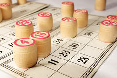 bingo gra Obrazy Stock