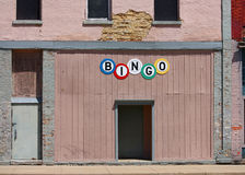 A Bingo Hall Royalty Free Stock Photos