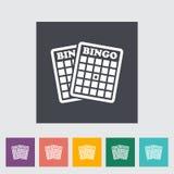 Bingo icon Royalty Free Stock Photo