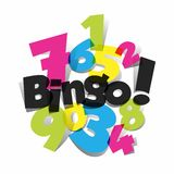 Bingo, Jackpot symbol Stock Image
