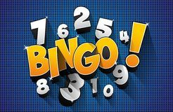Bingo, Jackpot symbol Royalty Free Stock Images