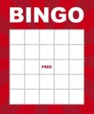 Bingo karta ilustracji