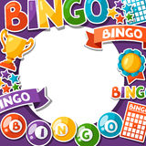 Bingo or lottery game background  Stock Photography