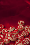 Bingo numbers Royalty Free Stock Images