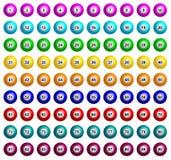 Bingo piłki royalty ilustracja