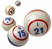 Bingo piłki fotografia stock