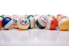 Bingo piłki Zdjęcie Stock