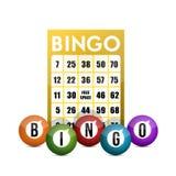 Bingo pojęcia ilustracyjny projekt royalty ilustracja