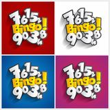 Bingo, Potsymbool Stock Afbeelding