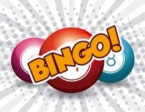 Bingo projekt, ilustracja ilustracji